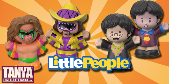 FisherPrice-LittlePeople-WWE-TheBeatles-ToyFair-Figures-JLT