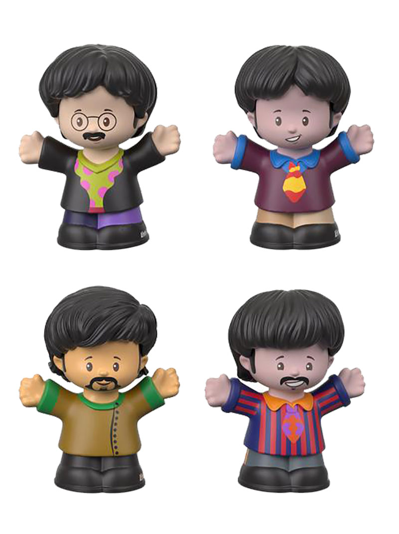 FisherPrice-LittlePeople-TheBeatles-ToyFair-Figures